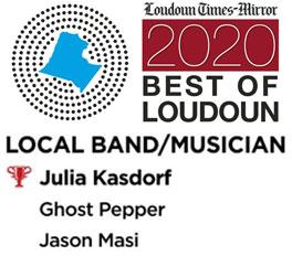 Julia voted Best Local Musician